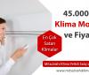 45000 BTU Klima Modelleri ve Fiyatları
