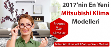 2017 mitsubishi yeni klima modelleri