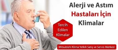 alerji hastaları için klima